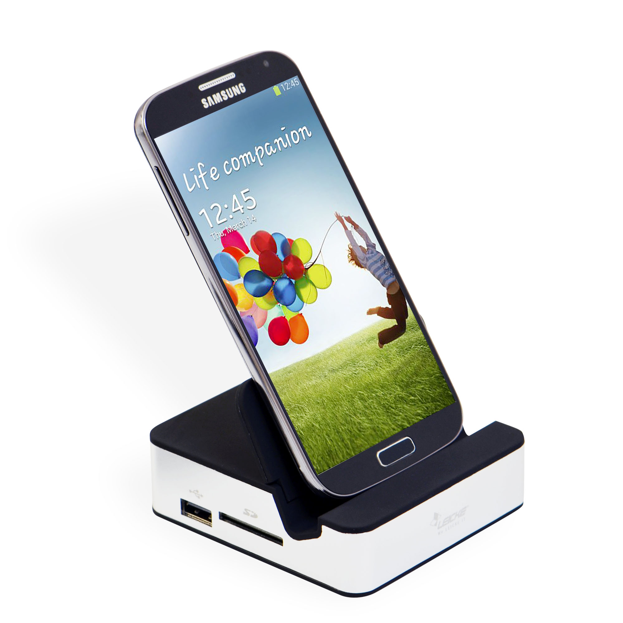 Leicke | LEICKE CleverDock - Docking Station for Samsung Galaxy S4 |