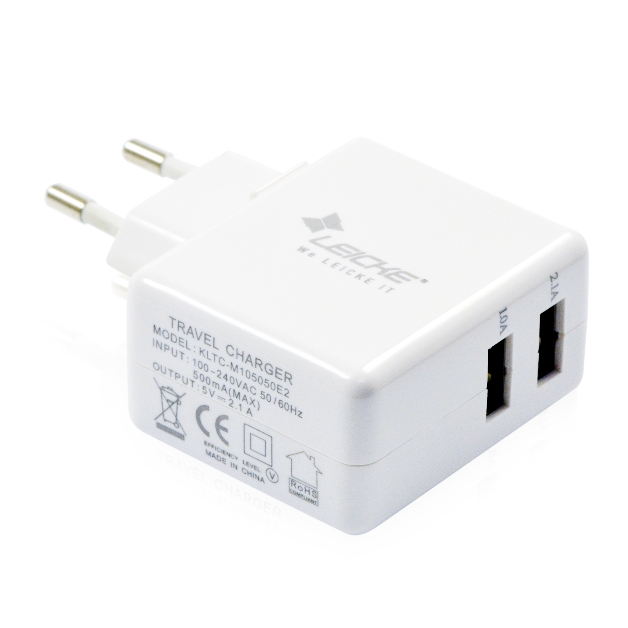 Leicke adaptateur chargeur mural chargeur secteur avec for Chargeur mural usb