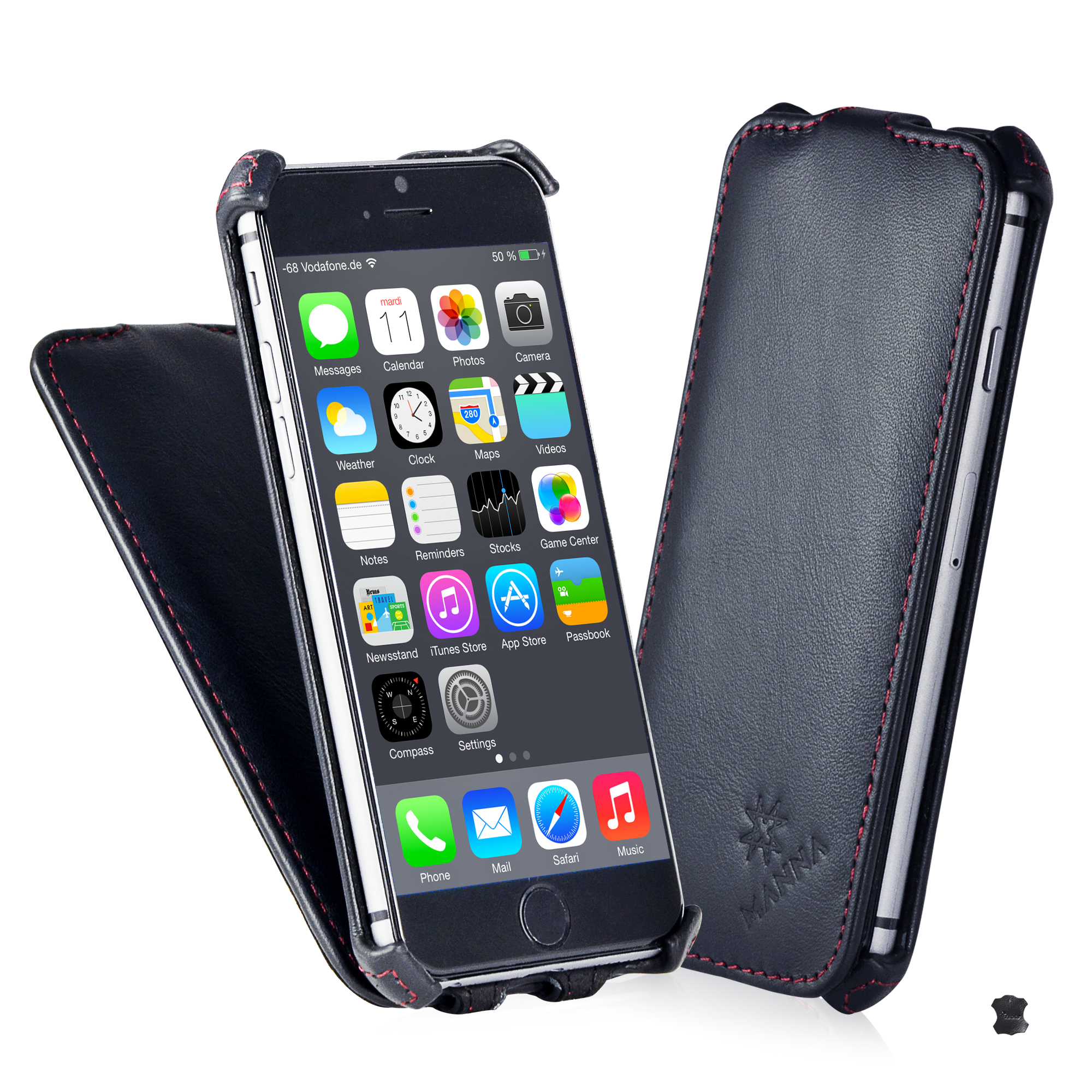 custodia flip iphone 6