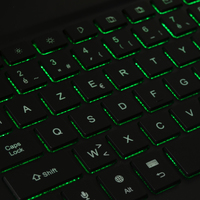 Luminous keyboard 01
