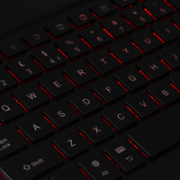 Luminous keyboard 02