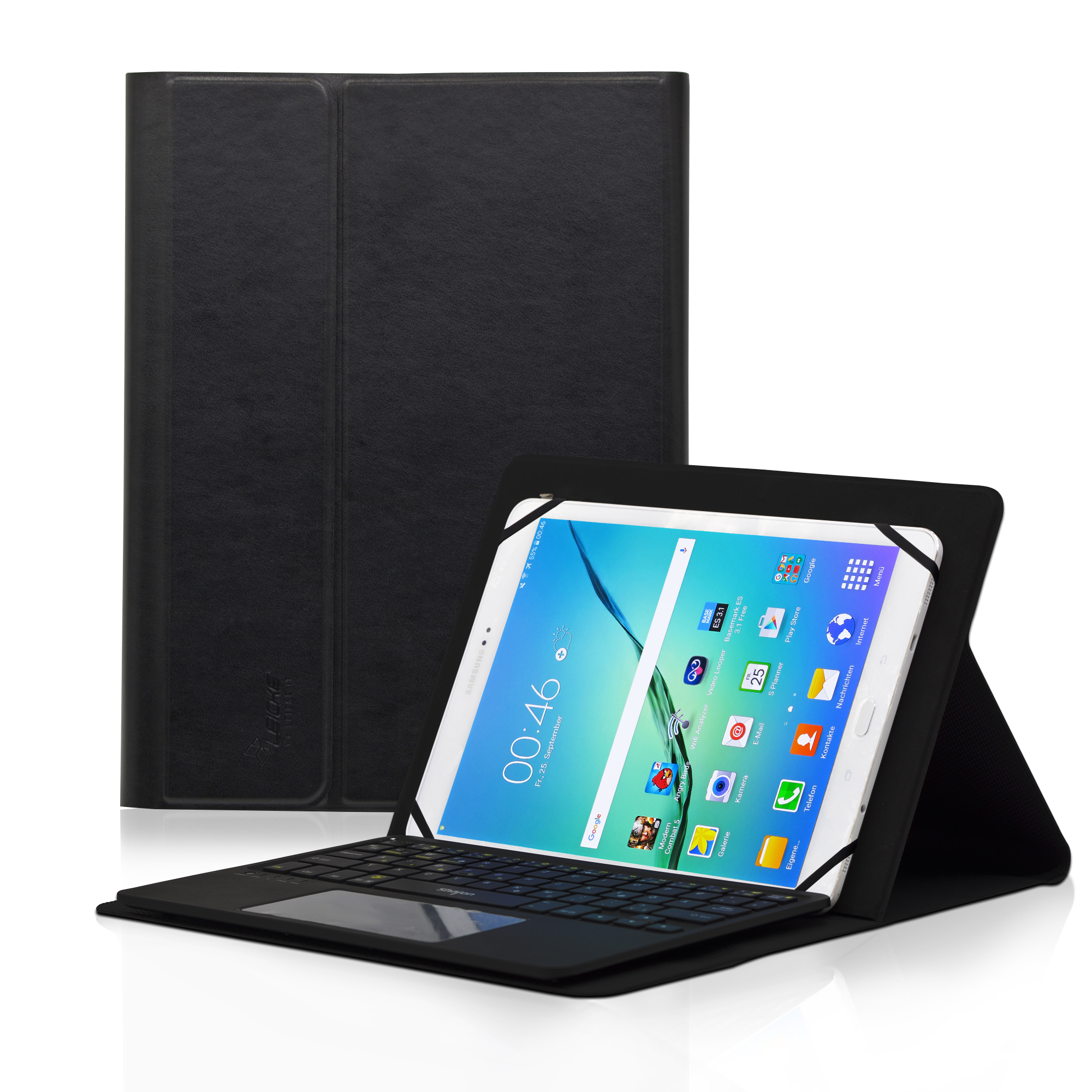 differently 4a52d 8f97b Leicke | Sharon Universal Keyboard Case with Multitouch Bluetooth
