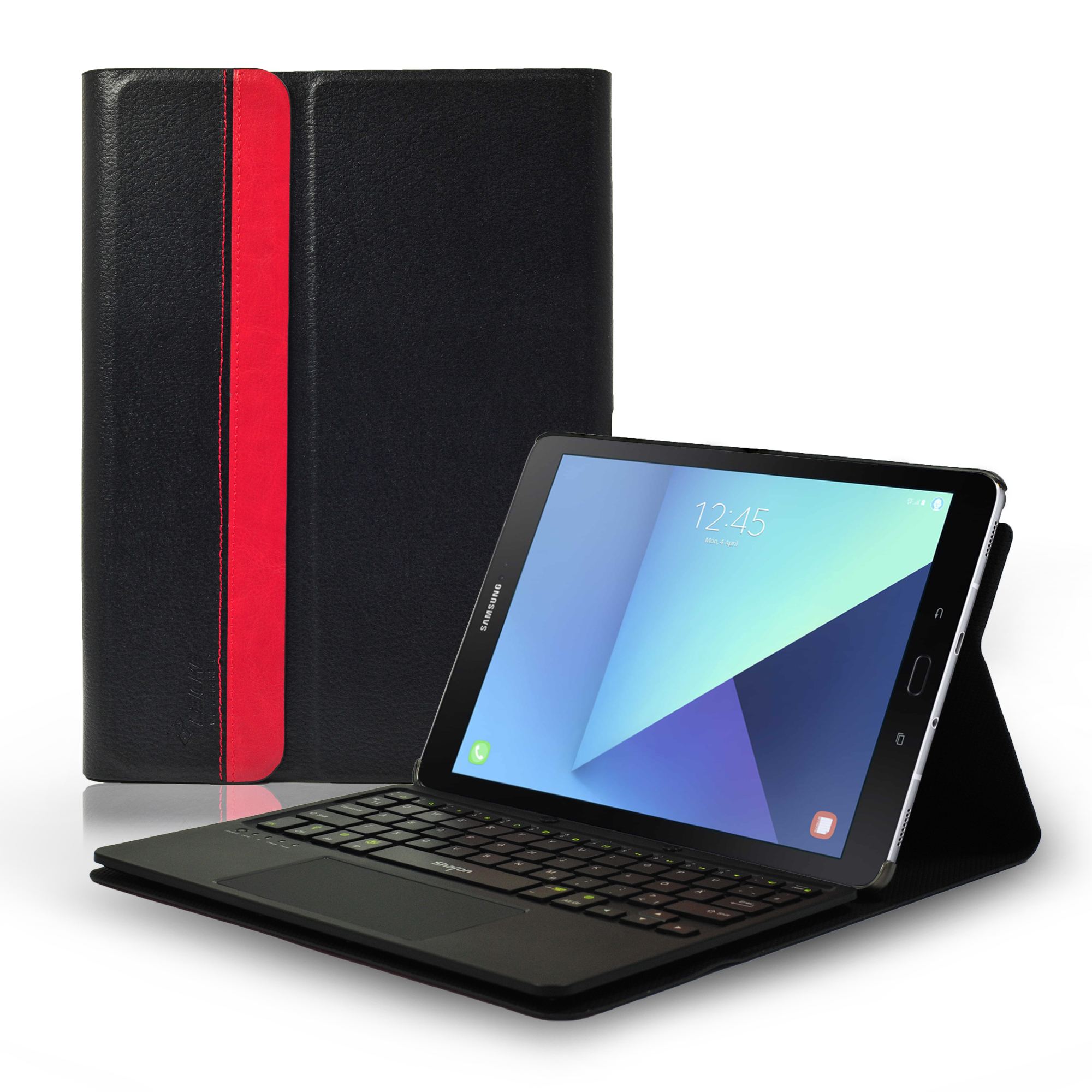 the best attitude f87dc 5aa56 Leicke | Sharon Samsung Galaxy Tab S3 9.7 Keyboard Case with Wireless